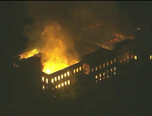 Incêndio que destruiu o Museu Nacional começou no ar-condicionado do auditório, diz laudo da PF